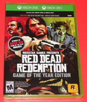 New! Red Dead Redemption: Game of the Year Edition - Xbox One and Xbox 360