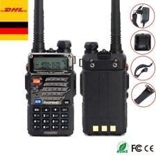 UV-5R Plus Amateurfunk Hand-funkgerät Walkie-Talkie PMR CTCSS BaoFeng Headset