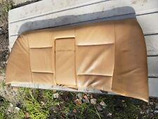 BMW E46 SEDAN BACK SEAT Brown Leather 325 330 323 328 4 DOOR OEM Rear Top part