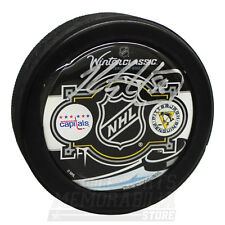 Kris Letang Pittsburgh Penguins Signed Autographed 2011 Winter Classic Dome Puck