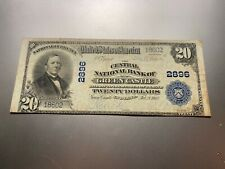 New listing Green Castle, Indiana 1902 National Note. Charter 2896.