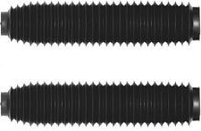 Par Ariete Motocross Negro Gris maletero Fundas 500mm para 40-43mm horquillas
