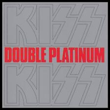 KISS - DOUBLE PLATINUM D/Rem CD ~ 70's GENE SIMMONS~GREATEST HITS~BEST OF *NEW*
