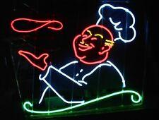 "Pizza Guy Open Neon Light Sign 32""x24"" Beer Bar Decor Lamp"