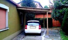 Pergola in legno 4x3 addossata tettoia veranda in pino impregnato in autoclave