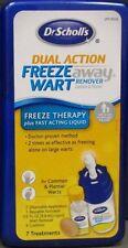 Dr. Scholls Dual Action Freeze Away Wart Remover 7 each