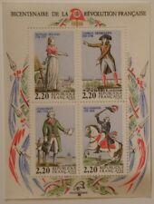BLOC  N° 10 NEUF** Bicentenaire de la Révolution