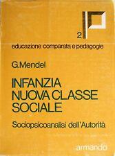 MENDEL INFANZIA NUOVA CLASSE SOCIALE SOCIOPSICOANALISI DELL'AUTORITÀ ARMANDO 74