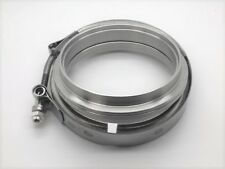 "Race Part Solutions 3"" Stainless Steel to Aluminum V-band Flange Kit"