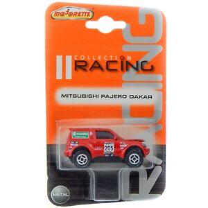 Mitsubishi Pajero Dakar HP Red V60 WRC Majorette Racing 1:58 1:64 292A  RARE