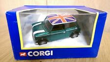 Corgi 04413 British Racing Green Mini with Union Flag Roof