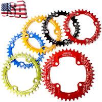 104BCD 32-42t Round Oval Chainring MTB Bike Crankset Crank Chain Ring Chainwheel