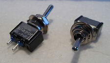 2K281 2 x Mini SPST On-Off Switches Ideal fr Model Railway/Railroad Use 2nd Post