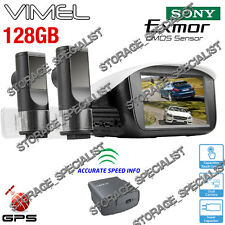 Dual Dash Car Camera Twin Lens 1080P GPS Security Parking Truck Mode as K1S DOD
