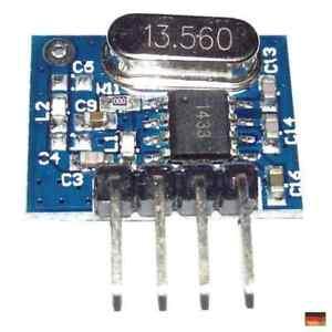 Superheterodyne 433 Mhz Sender Top Reichweite (ähnlich 3400 RF) Raspberry Ard...