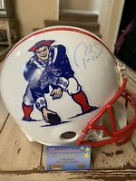 Tom Brady Autographed/Signed Authentic Full Size Helmet New England Patriots