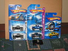 Hot Wheels Lot of 6 Hummer H3T Concept Variation Surfboard Exclusive Yellow
