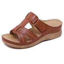 Women's Sandals Summer Premium Shoes Orthopedic Open Toe Beach Shower Flip Flops