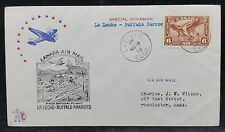 Canada Air Mail 1936 Illustrated First Flight Cover  Loche to Buffalo Narrows