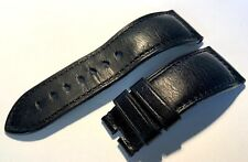 Genuine Officine Panerai 26mm Black Calf Leather Watch Strap