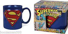 Superman Tasse Relief Officiel DC COMICS-Papa, frère, boxed cadeau Noël