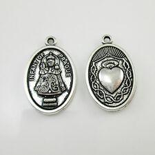 100pcs of St Infant of Prague Medal Pendant