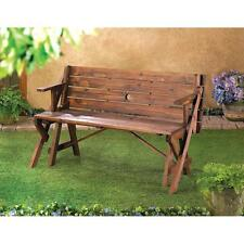 Rustic Convertible Garden Table NEW