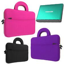 "Neoprene Sleeve Pocket Handle Bag Case for TOSHIBA 11.6"" 12.5"" 13"" 13.3"" Laptop"