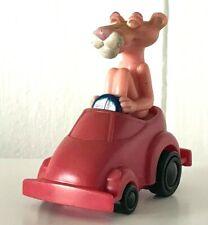 Raro 1999 Vintage Retro Pink Panther Burger King coche The figura plástica