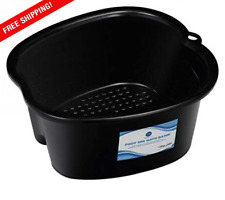 Foot Soaking Bath Basin – Large Size for Feet   Pedicure and Massager Tub At Hom