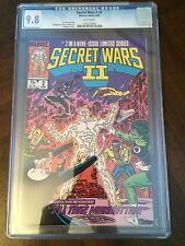 Marvel Comics: Secret Wars II #2 CGC 9.8