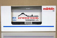 MARKLIN MäRKLIN 4415 K0044 SONDERMODELL DB GEVERBEVEREIN WEINSBERG Kühlwagen n