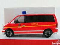 "Herpa 046251 Mercedes-Benz Vito Kombi (2003) ""Berliner Feuerwehr""1:87/H0 NEU/OVP"