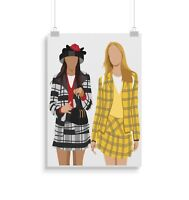 Clueless, Movie, Print, Poster, Wall Art, Gifts, Home Decor