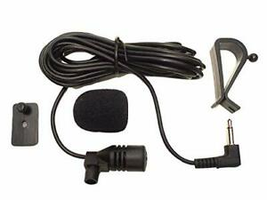 3.5mm Microphone Assembly Mic For Car Vehicle Head Unit Bluetooth Enabled Stereo