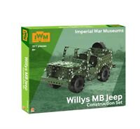 NEW Imperial War Museum Exclusive WWII Willys MB Jeep Construction Set