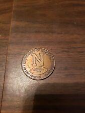 Vintage 1965 Undefeated SeasonGo Big Red Nebraska Football Coin