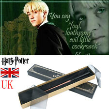 Harry Potter Wands Draco Malfoy Wand Cosplay Toys Xmas Gifts Prop Collect Box UK