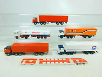 BT383-0,5# 5x Wiking H0/1:87 LKW Scania: ceti + Botterbloom + Pracht etc, s.g.