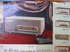 Anonimo, The Ranchero table radio by Crosley. Model T-60GY