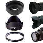 67MM Petal Flower Collapsible Rubber Hood UV Filter for Canon EF-S 18-135mm Lens