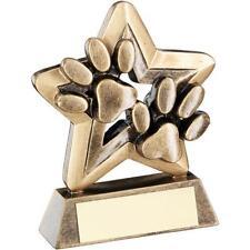 DOG PAW TROPHY AGILITY SHOW TRAINING FLYBALL OBEDIENCE AWARD RF409 DJ7