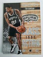 2013-14 NBA Hoops Class Action #16 Tim Duncan San Antonio Spurs Basketball Card