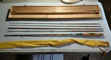 Vintage Kiraku+Co. Grampus bamboo fly fishing rod VGC synercane 201 japan