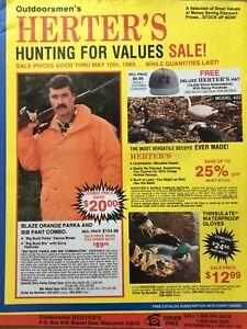 1989 Herters Catalog, Hunting For Values