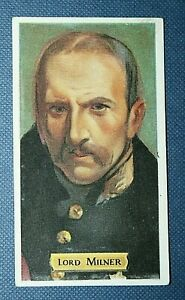 LORD MILNER   Boer War & Great War    Vintage Portrait Card
