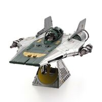 Fascinations Metal Earth Star Wars RESISTANCE A-WING FIGHTER 3D Model Kit MMS416