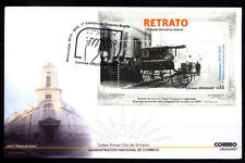 URUGUAY 2013 RED CROSS FIRST BRAILLE CALENDER S/SHEET  FDC YV 98