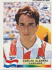 N°268 CARLOS ALBERTO GAMARRA PARAGUAY PANINI WORLD CUP 1998 STICKER VIGNETTE 98