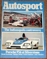 Autosport 10/5/79* SILVERSTONE 6 HRS - SHEKHAR MEHTA - ROTHENGATTER F2 POSTER